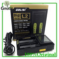 GOLISI Digicharger L2 Universal Battery Charger for e-cigar Ni-MH/18650/26650 for vape electronic cigarette vs NITECORE D2