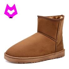 Ytracgold женские зимние ботинки короткие плюшевые ботинки Австралия Классический стадо Теплые зимние сапоги на меху; botines Mujer; женская обувь Botas feminina
