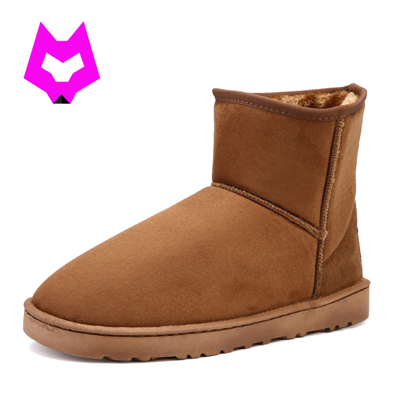 YTracGold Women Snow Boots Short Plush ug Australia Classic Flock Warm Fur Winter Boots Botines Mujer Woman Shoes Botas Feminina 2017 sales of the most popular hot winter boots women ug australia boots women slip warm women s boots in the snow size 34 44