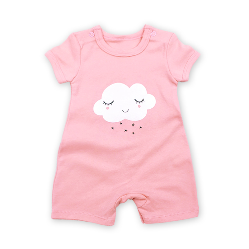 Baby Clothes Overalls Children Newborn Rompers Summer Short sleeve cotton print Infant Boy Girl Clothing 1pcs 6-24months