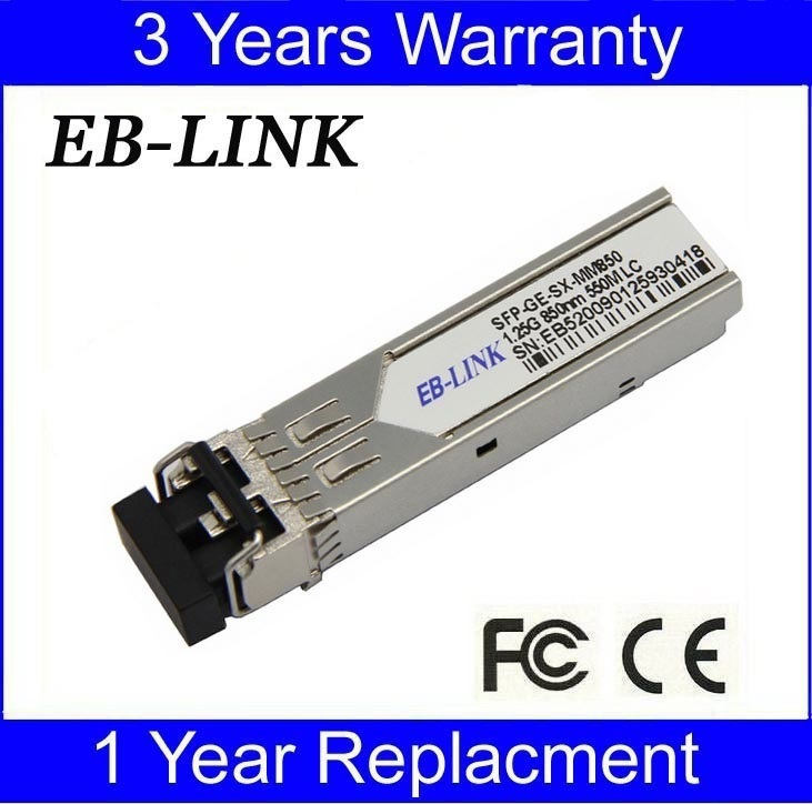 Per il modulo ricetrasmettitore SFP compatibile J4858A / B / C 1.25G 550m HP