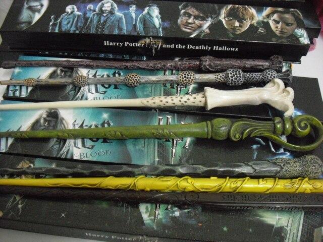 En gros 9 pièces/ensemble Harry Potter et la baguette de Voldemort Hermione Ron baguette magique Sirius Dumbledore baguette Non lumineuse ensemble complet - 3