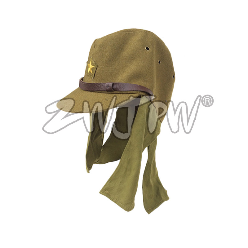 68dd6c8a9d1 WW2 WWII JAPANESE ARMY IJA SOLDIER WOOL CAP HAT HAVELOCK NECK FLAP Combat Cap  JP 40102-in Hunting Caps from Sports   Entertainment on Aliexpress.com ...