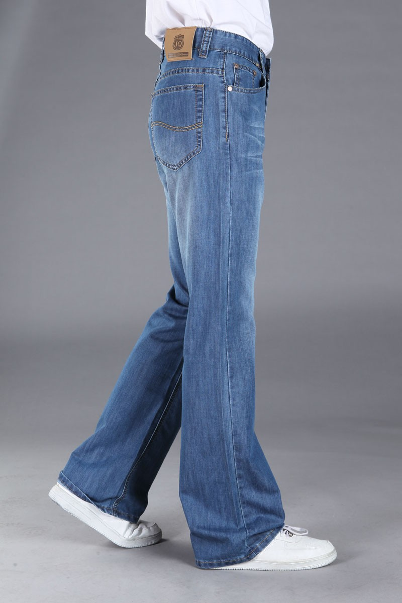 mens wide bootcut jeans - Jean Yu Beauty