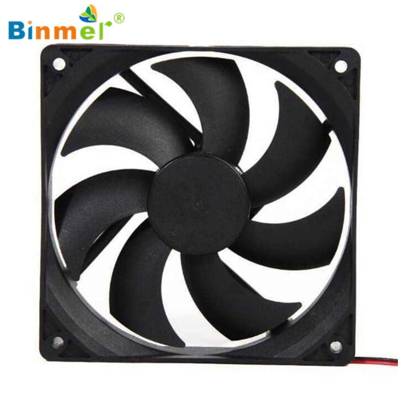 Hot-sale BINMER Compuer Fan Cooler 120*120mm 1800PRM 4 Pin 12V DC Brushless PC Computer Computer Case Cooling Fan 1112 hot sale binmer 120 x 120 x 25mm 4 pin computer fan red quad 4 led light neon clear 120mm pc computer case cooling fan mod