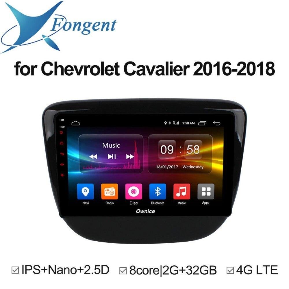 for Chevrolet Cavalier 2016 2017 2018 Car Android Unit DVD Radio GPS 2 1 din Audio