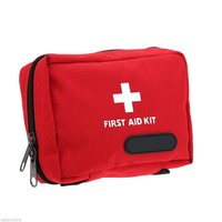 NEW SafuranceOutdoor Tactical Emergency Medical First Aid Pouch Bags Survival Pack Rescue Kit Empty Bag Treatment