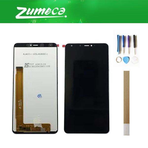 High Quality 720*1440 For Wiko View Max LCD Display+Touch Screen Digitizer Assembly Replacement Part Black Color With Tape&ToolHigh Quality 720*1440 For Wiko View Max LCD Display+Touch Screen Digitizer Assembly Replacement Part Black Color With Tape&Tool