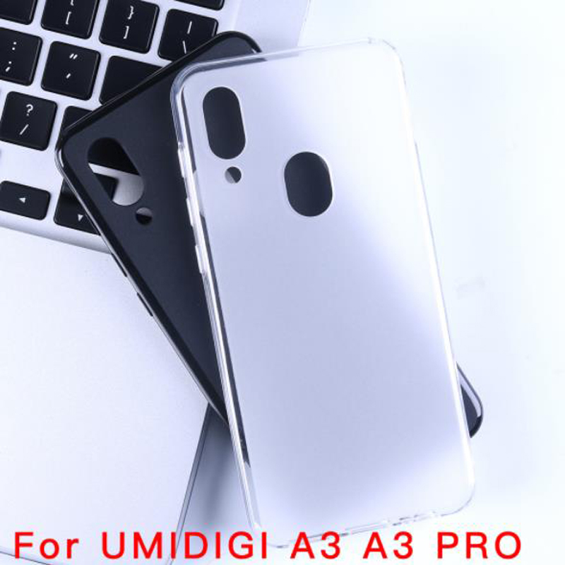 For Alcatel idol 5 Cases Soft TPU Matte White Pudding Gel Coque 5 2