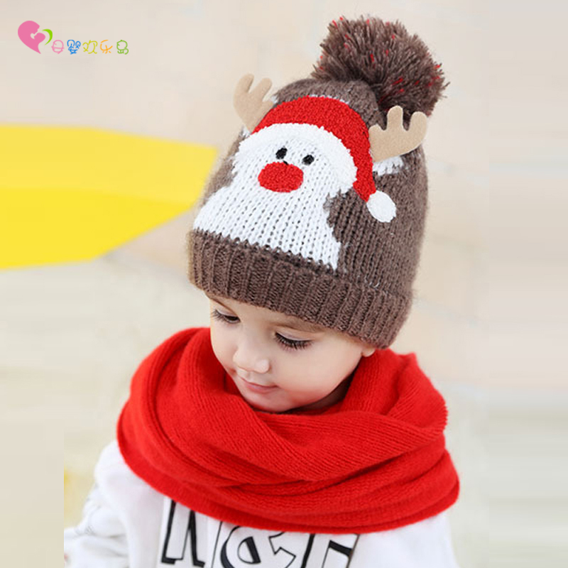 Baby Christmas Hat Knitting Pattern Winter Hats Boys And Girls ...