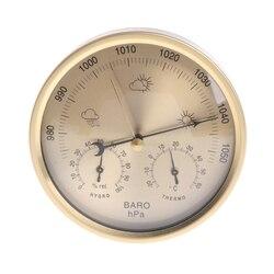 5 Cal barometr termometr higrometr ścienny domowy stacja pogody higrometr