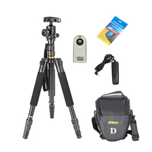 Tripod Kit New Universal Flexible Q999S Professiona Aluminum Tripod Monopod with Detachable Ball Head Travel Tripod for DSLR