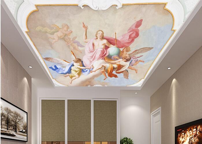 как получить фото фрески для натяжных потолков что для