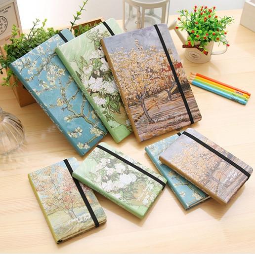 Van Gogh Painting Creative Notebook Ruled Line Journal