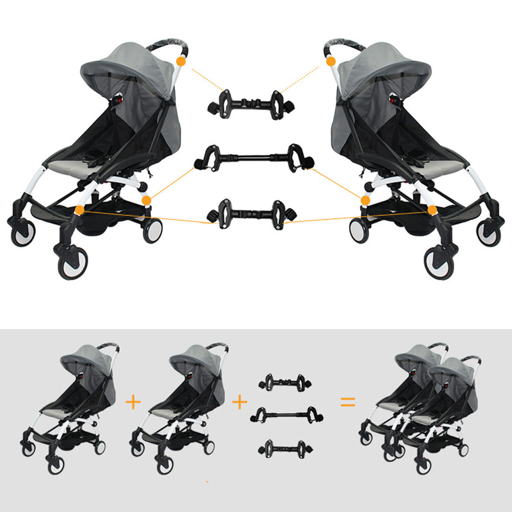3PCS Coupler Bush insert strollers connector adapter for ...