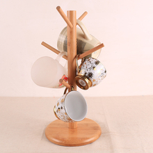 New wooded tree shape coffee cup storage rack drainer drink mug Display stand holder drying rack kitchen Organizer