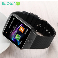 Iwownfit Fashion Smart Watch Passometer Wearable Devices Smart Watch DZ09 Or Android Phone Adult Bluetooth SIM