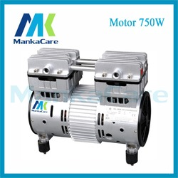 Manka الرعاية-موتور 750 واط محركات الأسنان ضاغط الهواء/الضواغط رئيس/الصامت مضخات/النفط أقل/النفط الشحن/ضغط مضخة