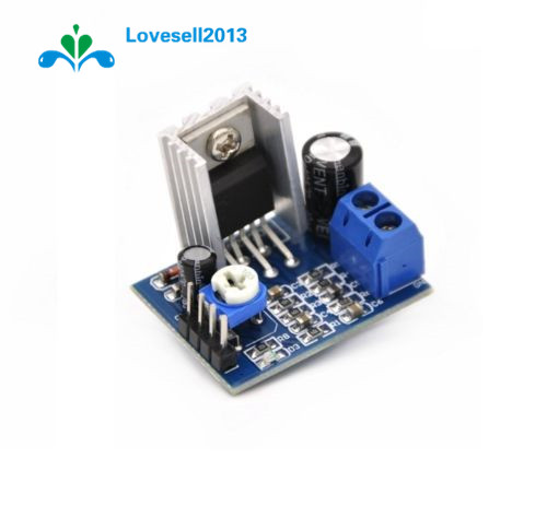 <font><b>2</b></font> Pcs Audio Amplifier Board Module TDA2030 TDA2030A 6-<font><b>12V</b></font> 18W Single <font><b>Amp</b></font> <font><b>Power</b></font> <font><b>Supply</b></font> image
