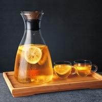 Heat Resistant Glass Tea Pot Flower Tea Set Puer Kettle Coffee Stainless Steel FiltTeapot Convenient With