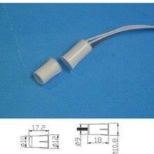 Interruptor Magnético para puerta y ventana, 5 uds., MC 33B NC y NO Embedded, sensor para ALARMA DE SEGURIDAD PARA EL HOGAR, sistema de advertencia antirrobo