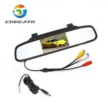 """Big Sale! 480x272 4.3"""" Color Digital TFT-LCD Screen Car Rear View Mirror Monitor Car Monitor for Backup Reverse Camera(China (Mainland))"""
