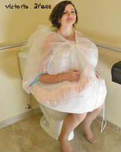 Petticoat Underskirt Save Your Wedding Dress From Toilet Water With The Bridal Buddy Wedding Accessories
