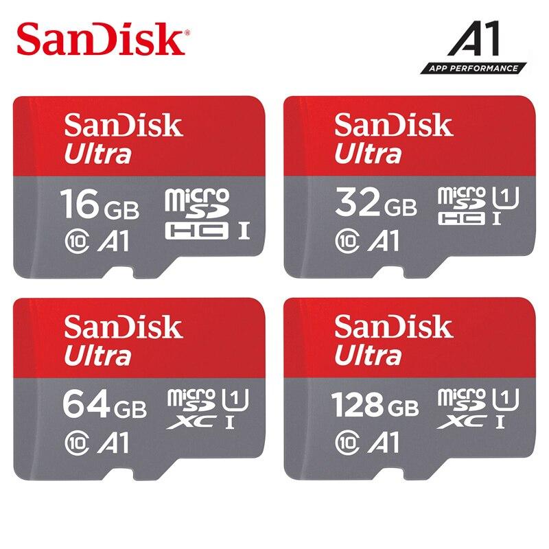 Original SanDisk Memory Card 256GB 200GB 128GB 64GB 32GB MicroSDHC/SDXC UHS-I Micro SD Card 16GB 98MB/s TF Card For Smartphone