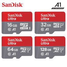 Оригинальная карта памяти SanDisk 256 ГБ 200 ГБ 128 Гб 64 Гб 32 Гб microSDHC/SDXC UHS-I карта micro SD 16 Гб 98 МБ/с./с TF карта для смартфона