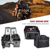 KEMiMOTO-bolsas de equipaje para motocicleta BMW, bolsas interiores expandibles de PVC, color negro, para BMW R1200 GS, refrigeradas por agua