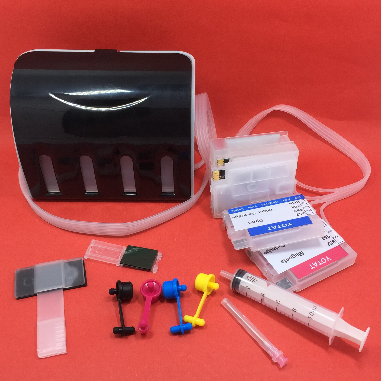 купить YOTAT CISS for HP 954 954XL ink cartridge for HP954 OfficeJet Pro 8702 7720 7730 7740 8210 8218 8710 8720 8730 (ARC chip) по цене 6263.93 рублей