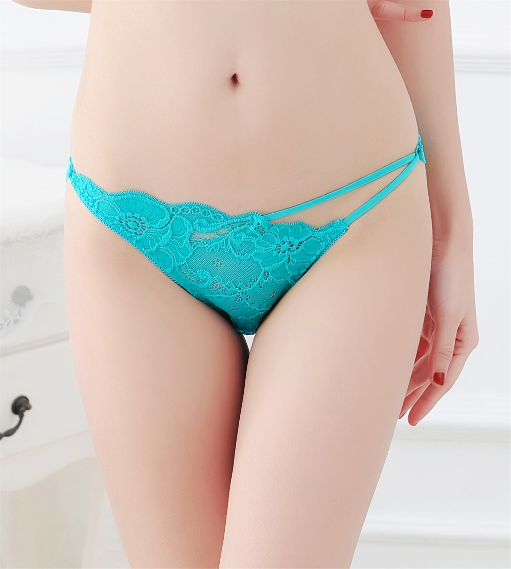 Women Sexy Lingerie hot erotic sexy   panties   transparent lace underwear porn Cheeky see through underpants strappy bikini briefs