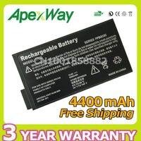 Apexway 14.4 v סוללה למחשב נייד 8 תאים עבור hp mobile workstation nw8000 עבור hp compaq business notebook nc6000 nx5000 nc8000 nw8000
