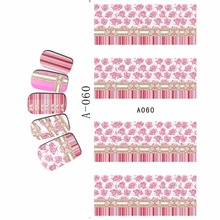 WATER DECAL NAIL STICKER FULL COVER FLOWER COCKSCOMB MORNING GLORY TIGER SKIN BRAZIL FLAG A055-060