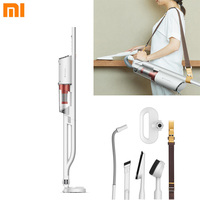 Xiaomi Deerma Ring Suction Cleaner Handheld Dust Collector Aspirator With Back Type Portable Sweeper Can Be Used For Sofa Aspira