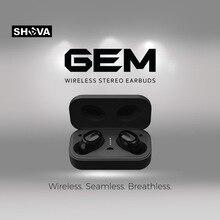 SHAVA  GEM  TWS 5.0 Bluetooth headphone 3D stereo wireless earphone with dual microphone