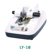 1PC LY 1B lens glasses processing equipment automatic clip slot wire drawing machine stainless panel
