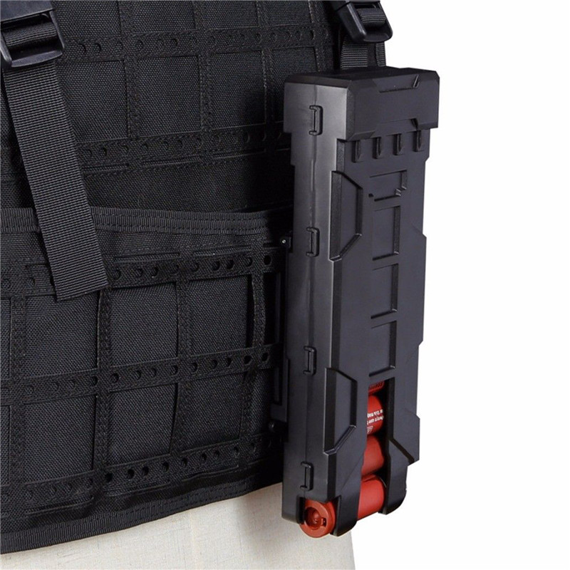 Military Tactical Pouch Ammo Bag 12 Gauge Ammo Shells Hunting Case Gun Accessories Outdoor Sheath Airsoft Shooting Pouches Box in Pouches from Sports Entertainment