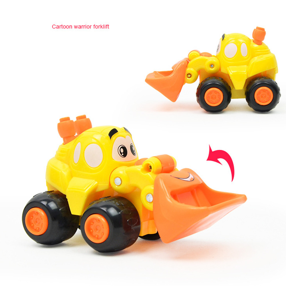 New Years Toys Baby Kid Fun Toy Gift Car model Cute Twist Forward Movement Clockwork Spring Engineering Car Toy Gift
