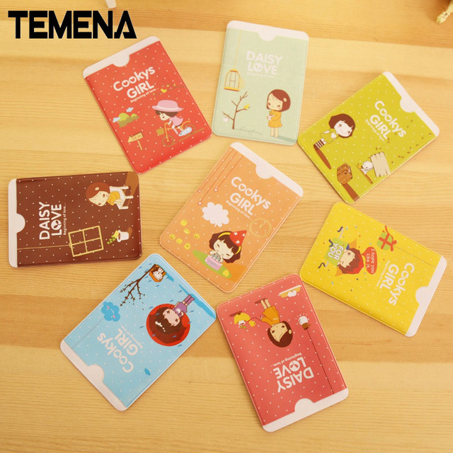 New arrival women cute waterproof id credit card holder business new arrival women cute waterproof id credit card holder business card wallet pocket case ach201d reheart Choice Image