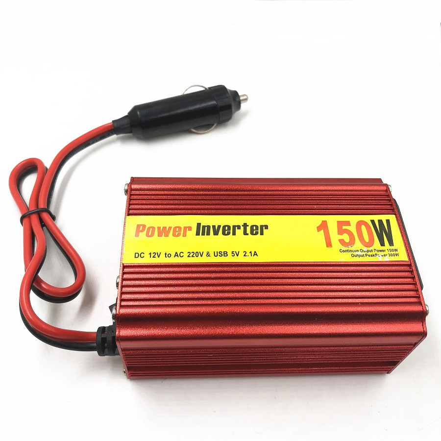150W with USB Home Car Power Inverter Converter DC 12 V 220 V Car Battery Charger Adapter Car Power Supply