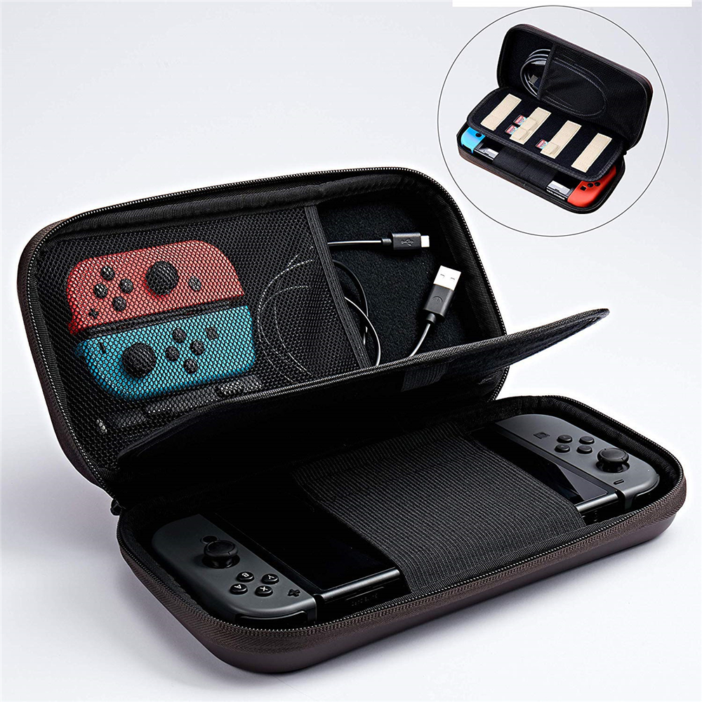 For Nintend Switch Carrying Case Accessories Storage Bag Protection Hard EVA rubber Travel portable Case for NS Console