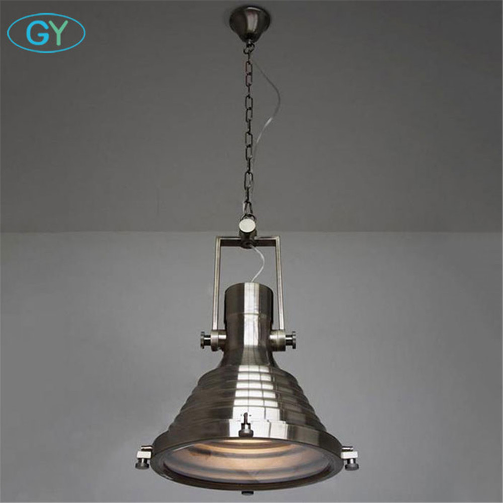 High Quality Lustres Modern Industrial pendant light Big heavy matte black Chrome bronze high bay warehouse pendant lamp lampe часы nixon corporal ss matte black industrial green