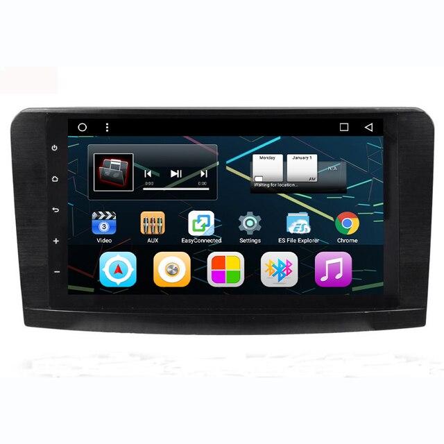 Android 6.0 Quad Core 9 pouce De Voiture Radio Stéréo GPS de Navigation Pour Mercedes Benz ML W164/GL X164 ML350 ML320 ML280 GL350 GL450