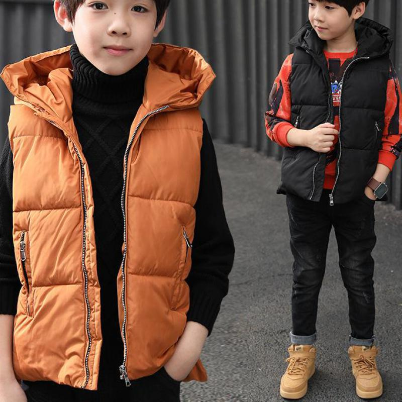2017 New Arrivals Boys Vest Children Clothing Warm Cotton-padded Clothes Girls High Quality Jacket Boys Gilet Mode Enfant Fille
