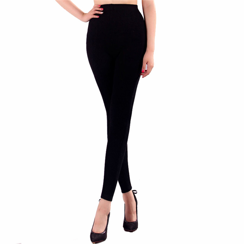 Hot Sales 2019 New style Termal Cashmere Skinny leggings women's underwear Wool Warm pants High-quality Free Shipping