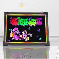 12x16 Flashing LED Writing Board Menu Sign Fluorescent Message Erasable YLW003