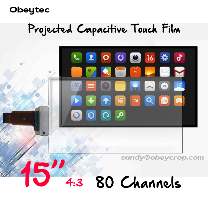15 inches 10 points Transparent Interactive Touch Foil Film with USB port clinique 100g