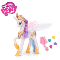 Electronic My Little Pony Toys Cutie Mark Magic Princess Celestia PVC Action Figure Try Me Talks