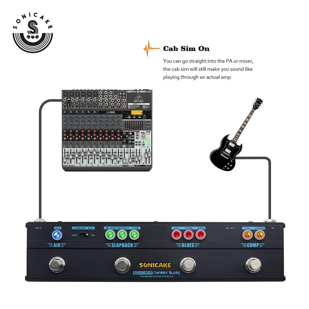 atraso reverb 4 tipo plug QCE-20